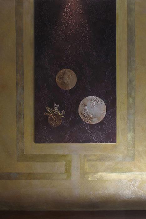 08-Tête-de-lit-création-sur-papier-gaufré-décor-467x700 Réalisations wallpaper