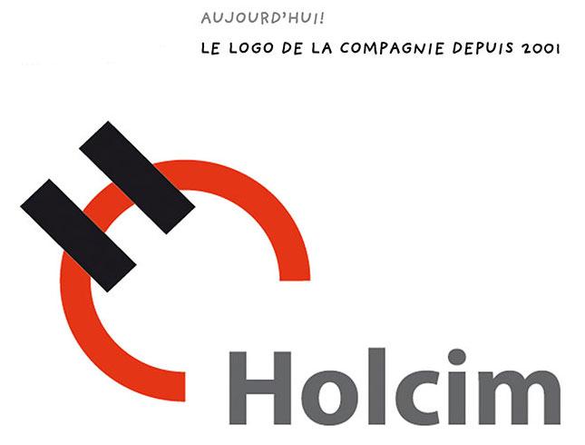 Histoire-Holcim-son-logo Tableaux sur commande